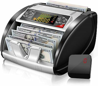 Money Counter With Uvmgir Detection Bill Counting Machine With Counterfeit