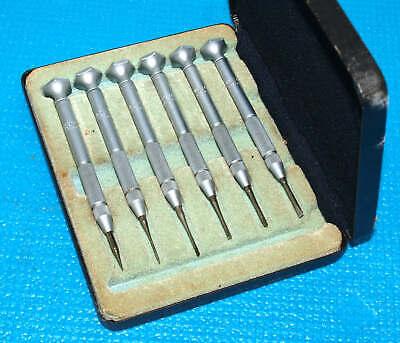 Brown Sharpe Micro Precision Screwdriver Set No. 796 Eclipse - England