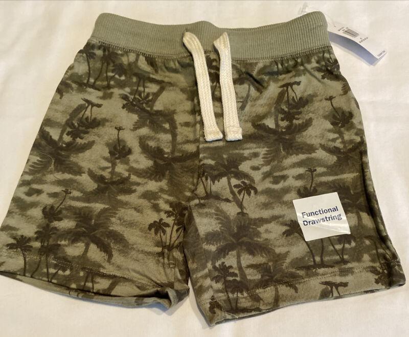 Old Navy Toddler NWT Green Drawstring Shorts size 3T