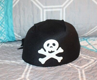 Party Costume Themes For Adults (Pirate's Black Scarf Adult Hat Great for Halloween or Pirate Theme Costume)