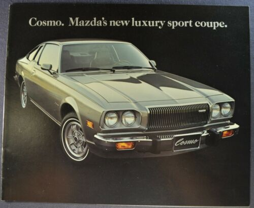 1976 Mazda Cosmo Catalog Brochure Rotary Sport Coupe Excellent Original 76
