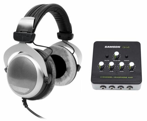 Beyerdynamic DT 880 Premium 600 Ohm HiFi Headphones+Samson 4
