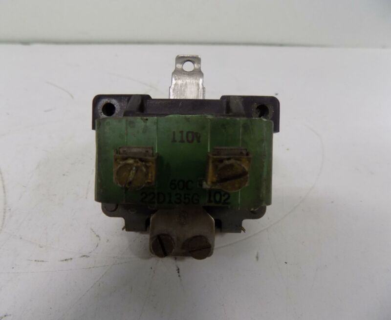 GENERAL ELECTRIC MOTOR STARTER RELAY COIL 55-650321-1A