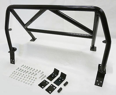 Obx Racing Sports 4 Point Roll Bar Black  90 97 Mazda Miata Mx 5 Hard Core