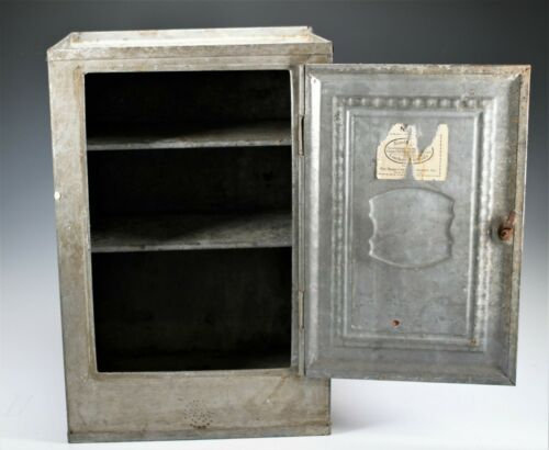 ANTIQUE HOME COMFORT BREAD AND CAKE RUSTIC KITCHEN CABINET HOME DECOR