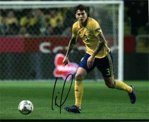 Sweden Victor Lindelof Autographed Signed 8x10 Photo COA #1
