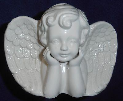 ANTIQUE PORCELAIN ANGEL/CHERUB - Planter - Vase - Cachepot - Jardiniere