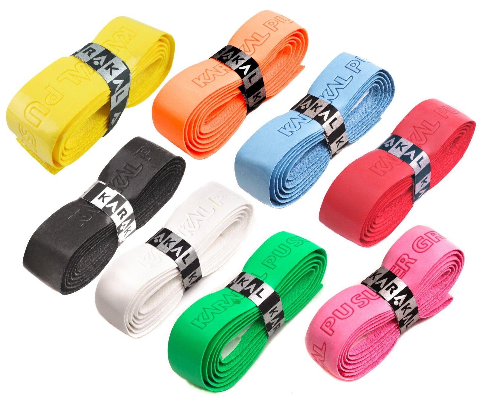 karakal pu replacement grip - tennis - squash - badminton - various colours