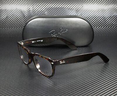 RAY BAN RX5184 2012 Dark Havana Demo Lens 52 mm Unisex (Ray Ban Rx5184 Eyeglasses)