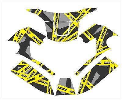 Miller T94i I T Digital Elite Welding Helmet Wrap Decal Sticker Jig Caution