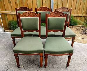 Antique Chairs x5 West Hobart Hobart City Preview