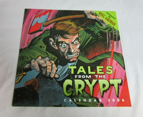 Tales from the Crypt-Out of Print 2006 Calendar-Rare-NM