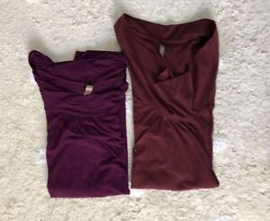 Maternity tops, size M