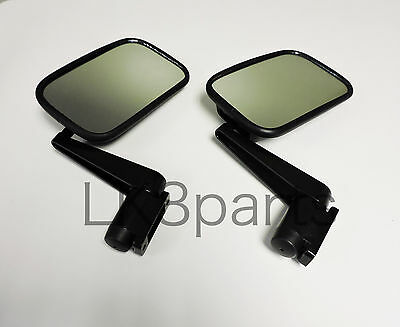 LAND ROVER DEFENDER 90 110 MIRROR & ARM ASSEMBLY SET of 2 MTC5217 NEW