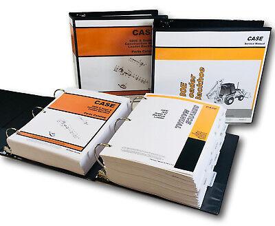 Case 580e 580se 580 Super E Loader Backhoe Service Manual Parts Catalog Book