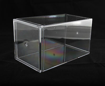 New  Clear Plastic Acrylic Display Case Beanie Baby 4 X 4 X 7