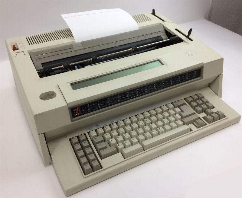 Vintage IBM Wheelwriter 30 Series II 6787 Electronic Typewriter w/ Display