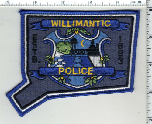 Willimantic Police (Connecticut) 5th Issue Shoulder Patch