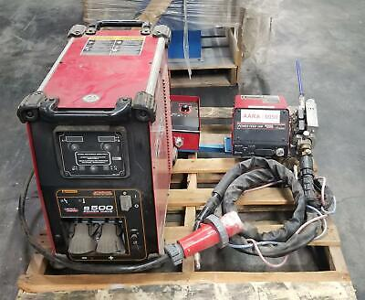 Used Lincoln Electric S500 Power Wave Multiprocess Welder Power Feed Controller