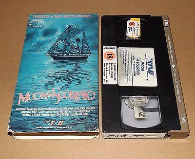 Moon In Scorpio  Vhs  1987  Britt Ekland Trans World Entertainment