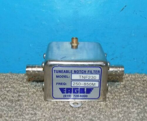 Eagle Tuneable Notch Filter TNF230 250-850MHz Free Shipping