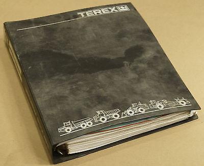 Terex 3308e Rigid Truck Service Shop Manual 35056