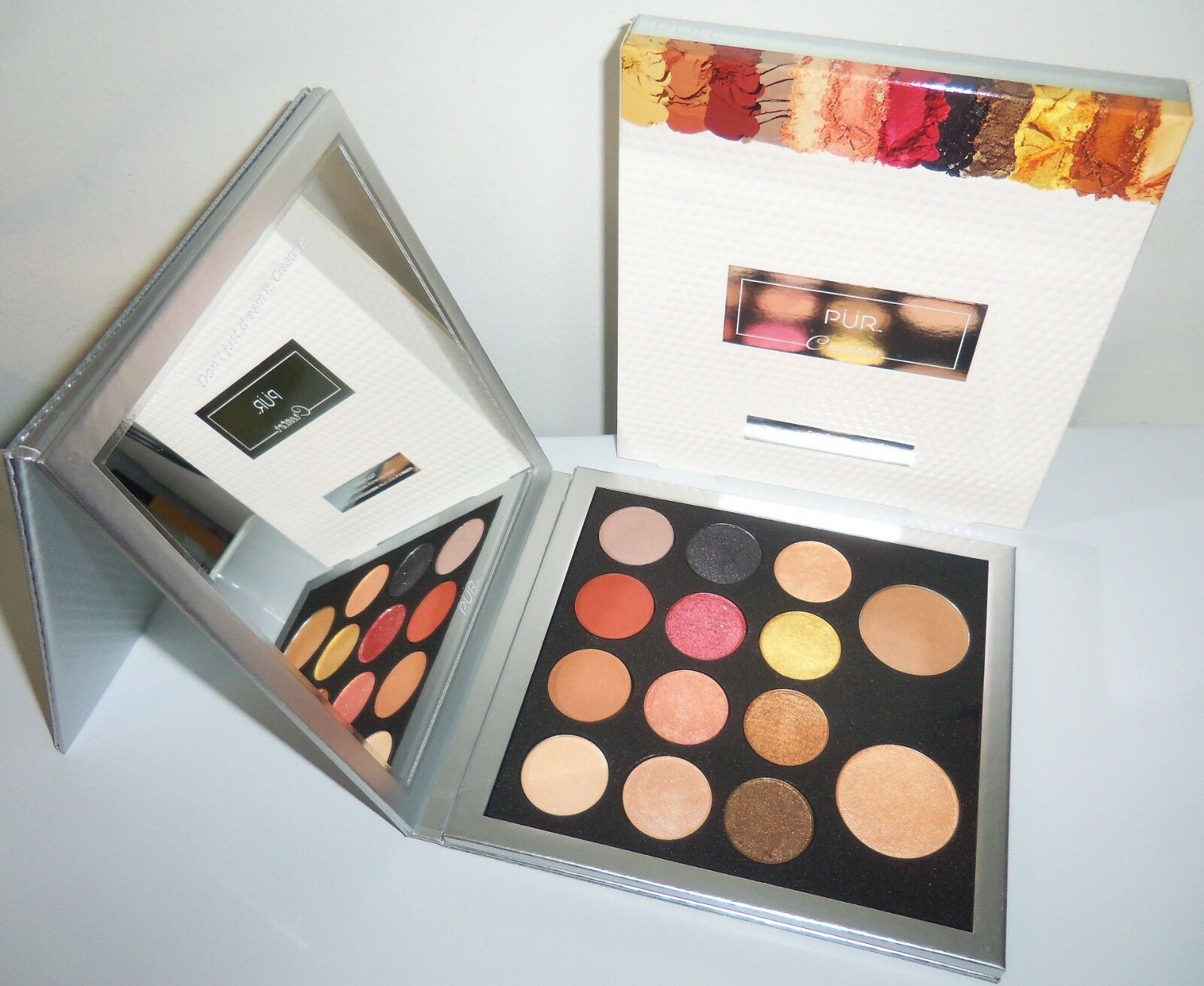 PUR Creator Face Palette - Z Palette - Standing Mirror/ BRAN