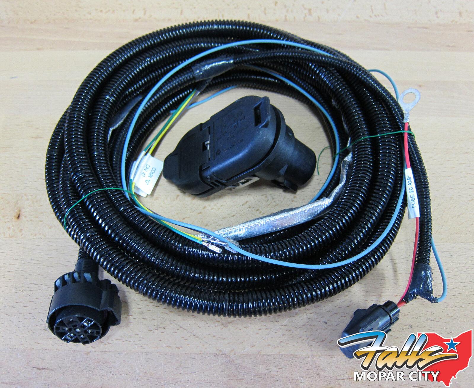 Toeing 2012 Jeep Cherokee Wire Harness Find Wiring Diagram 1988 Xj 2011 2013 Grand Dodge Durango Trailer Tow Rh Ebay Com Plug