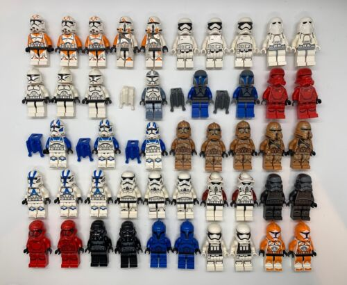 LEGO Star Wars Minifigures Lot - Clone Troopers Stormtroopers Imperial -YOU PICK