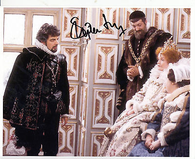 Stephen Fry Signed A4 Photo Framed Blackadder Memorabilia Autograph