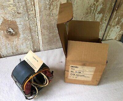 Nos Ridgid Part 44035 230 Volt Motor Field - 300 535 Pipe Threader Motors
