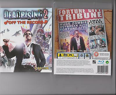 DEAD RISING 2 OFF THE RECORD PLAYSTATION 3 PS3  RATED 18 (Dead Rising 2 Off The Record Rating)