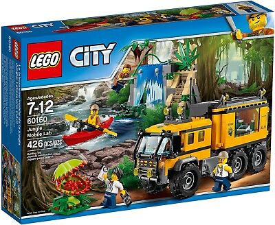 LEGO City 60160 - Laboratorio Mobile Nella Giungla NUOVO