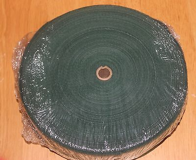 1 1/4 Inch FOREST GREEN Cotton Rug Binding Tape for Rug Hooking 10 Yards