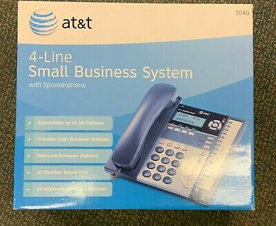 4-line Small Business System For Att