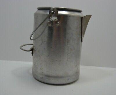 Craft JUNK old aluminum coffee pot