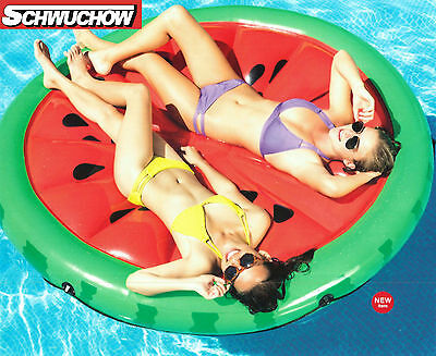 Intex Floating Island Watermelon Air Mattress Lounge XXL Pool