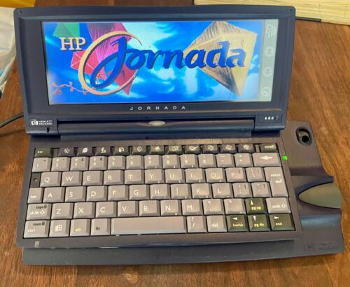 HP Jornada 680 Handheld Win CE 133MHz 16MB 6.5-in Display - Works Great - Rare!