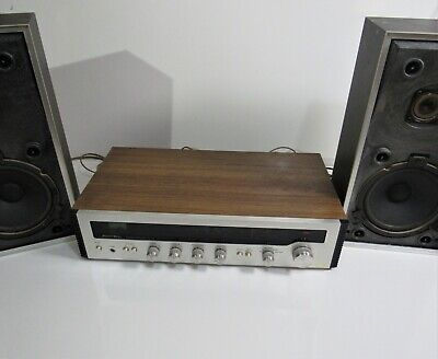 Vintage Rotel RX-152 Stereo Receiver Amplifier Hi-Fi Separate + BEOVOX Speakers
