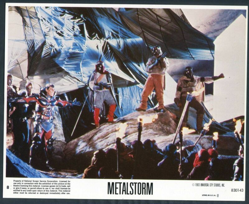 SCI FI CREATURES LARRY PENNELL Metalstorm The Destruction Of Jared Syn '83