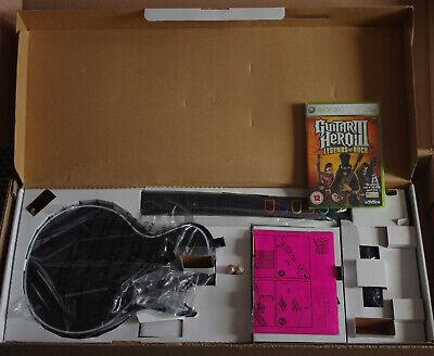 Xbox360 Guitar Hero 3 Les Paul Controller & Legends of rock game...