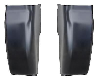 Outer Cab Corner fits 99-16 Ford Super Duty Pickup truck Regular & Crew Cab PAIR