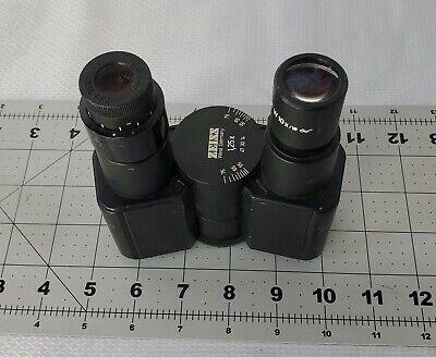 Ziess Binocular Head Piece 47 30 14 With Eyepieces
