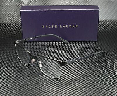 RALPH LAUREN RL5101 9038 Matte Black Demo Lens 55 mm Men's Eyeglasses