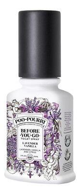 Poo Pourri Lavender Vanilla 2 oz. Sealed Fresh