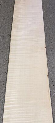 Curly Maple Wood Veneer 6 Sheets 32 X 6.5 8 Sq Ft