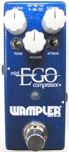 Used Wampler Mini Ego Compressor Guitar Effects Pedal