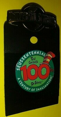 UNIVERSAL STUDIOS THEME PARK DR SEUSS SEUSSENTENNIAL CENTURY OF IMAGINATION! PIN