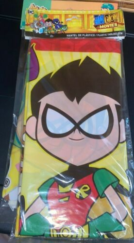 Teen Titans Go Tablecover Tablecloth Decoration Party Supplies
