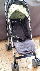 Silver Cross Stroller - Umbrella fold lime green and black Ocean Reef Joondalup Area Preview